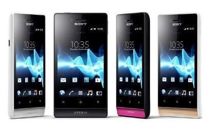 Sony poderá lançar 4 novos smartphones na Índia