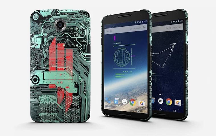 Google Live Cases – Novas Capinhas Personalizadas para Celulares Nexus
