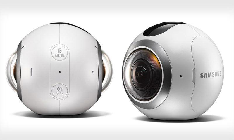 Samsung revela preço de sua Câmera Gear 360
