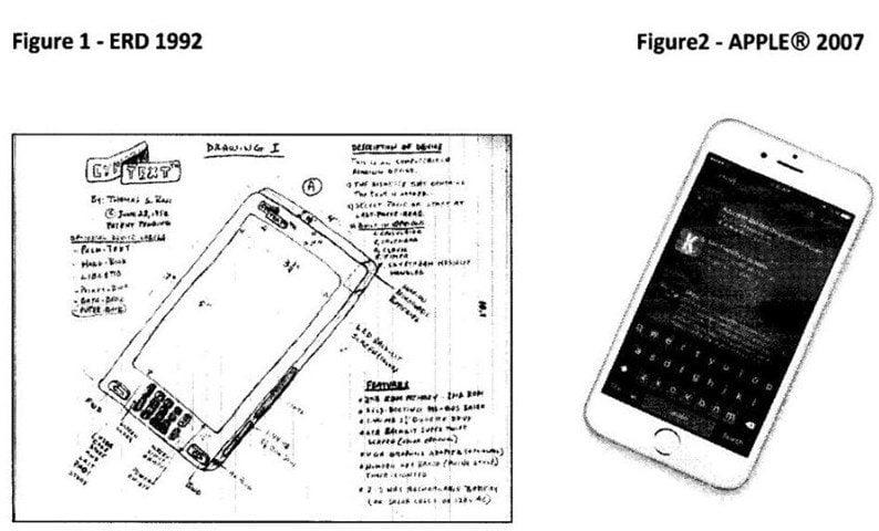 Apple é acusada de ter Copiado Design no iPhone