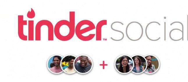 Tinder Social foi lançado no Brasil