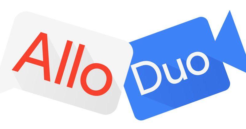 Allo e Duo – Novos recursos dos aplicativos