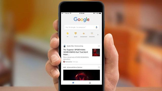Feed de notícias personalizado do Google