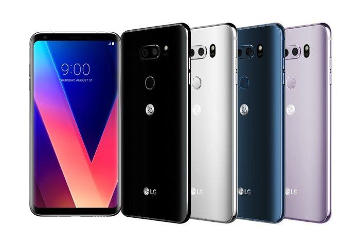 LG V30 – Especificações Técnicas, Lançamento